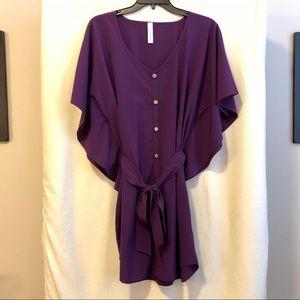 Purple Tunic Dress